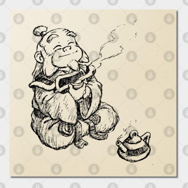 Uncle Iroh Love Peace