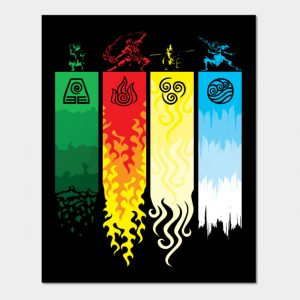 Element Symbols Avatar The Last Airbender