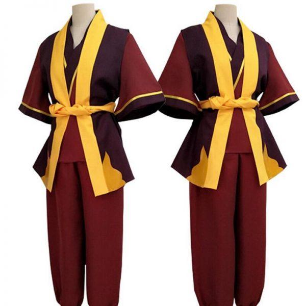 2020 Avatar The Last Airbender Prince Zuko Cosplay Costume Anime Custom Made Uniform 1 - Avatar The Last Airbender Merch