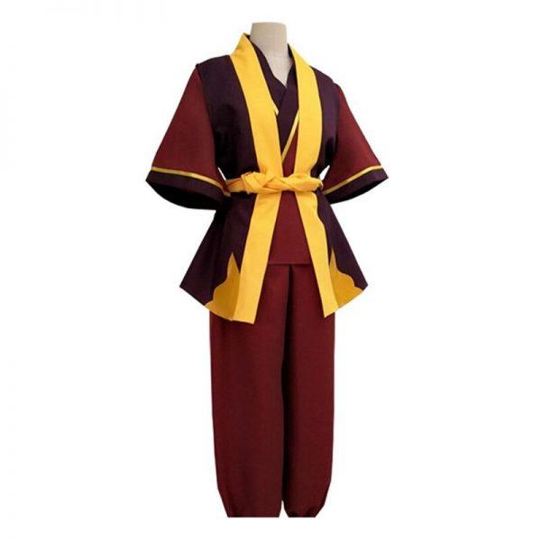 2020 Avatar The Last Airbender Prince Zuko Cosplay Costume Anime Custom Made Uniform 3 - Avatar The Last Airbender Merch