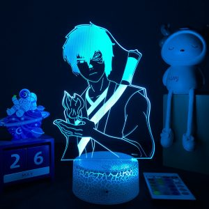 Anime Avatar The Last Airbender 3D LED Lamp Aang Zuko Iroh Toph Beifong Suki Figure Nightlight - Avatar The Last Airbender Merch
