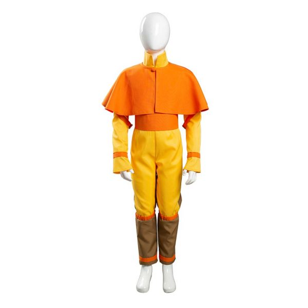Avatar The Last Airbender Avatar Aang Cosplay Costume Kids Children Jumpsuit Outfits Halloween Carnival Suit 1 - Avatar The Last Airbender Merch