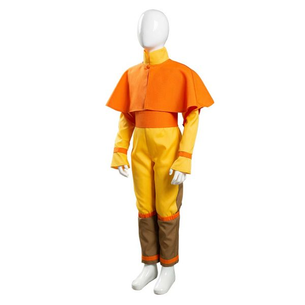 Avatar The Last Airbender Avatar Aang Cosplay Costume Kids Children Jumpsuit Outfits Halloween Carnival Suit 2 - Avatar The Last Airbender Merch