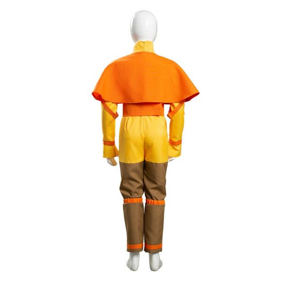 Avatar The Last Airbender Avatar Aang Cosplay Costume Kids Children Jumpsuit Outfits Halloween Carnival Suit 3 - Avatar The Last Airbender Merch