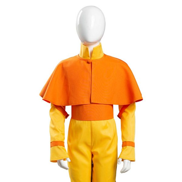 Avatar The Last Airbender Avatar Aang Cosplay Costume Kids Children Jumpsuit Outfits Halloween Carnival Suit 5 - Avatar The Last Airbender Merch