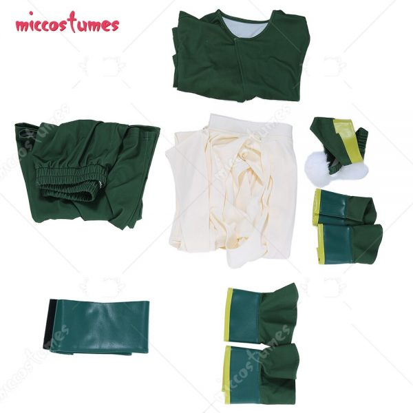 Avatar The Last Airbender Toph Beifong Adult Green Kungfu Suit Cosplay Costume with Hairband 3 - Avatar The Last Airbender Merch