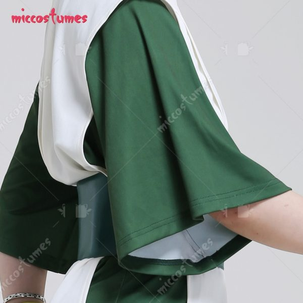 Avatar The Last Airbender Toph Beifong Adult Green Kungfu Suit Cosplay Costume with Hairband 5 - Avatar The Last Airbender Merch
