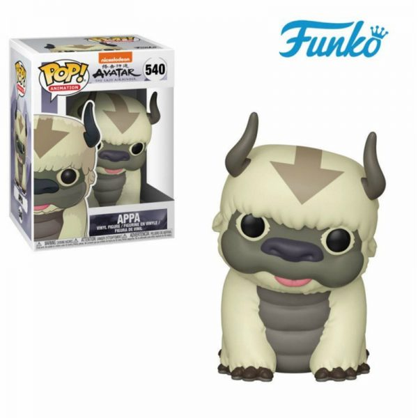 Funko Pop Avatar The Last Airbender 540 Appa Action Figures Toys Collection Model Vinyl Doll Gifts - Avatar The Last Airbender Merch