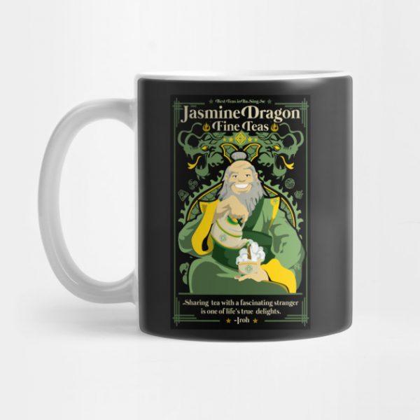 Jasmine Dragon Mug Iroh - Avatar The Last Airbender Merch