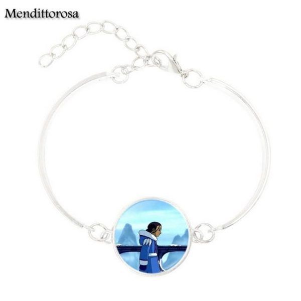 Mendittorosa Avatar the Last Airbender New Brand Jewelry Silver Colour With Glass Cabochon Bracelet Bangle For 11.jpg 640x640 11 - Avatar The Last Airbender Merch