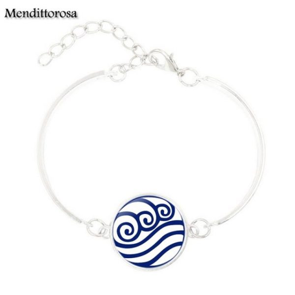 Mendittorosa Avatar the Last Airbender New Brand Jewelry Silver Colour With Glass Cabochon Bracelet Bangle For 5.jpg 640x640 5 - Avatar The Last Airbender Merch