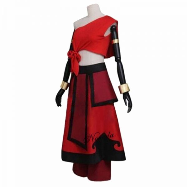 New Anime Avatar the last Airbender Katara Cosplay Costume And Wig For Carnival Halloween Party 1 - Avatar The Last Airbender Merch