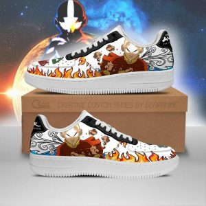 avatar airbender air force sneakers characters anime shoes fan gift idea pt06 gearanime 1 - Avatar The Last Airbender Merch