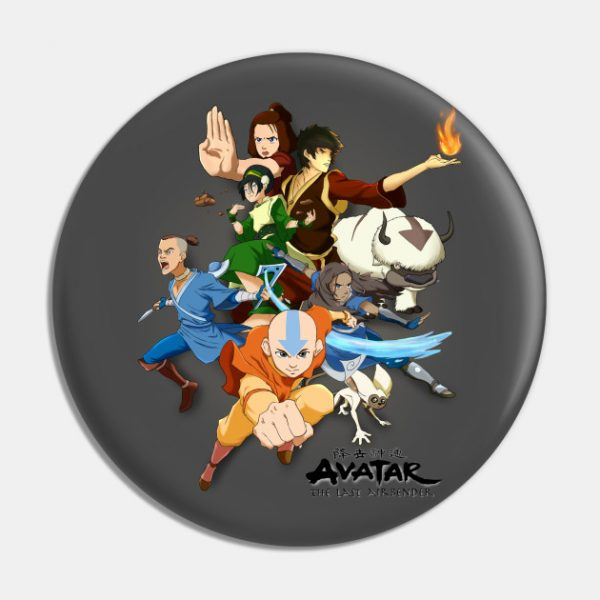 the gaang pin - Avatar The Last Airbender Merch