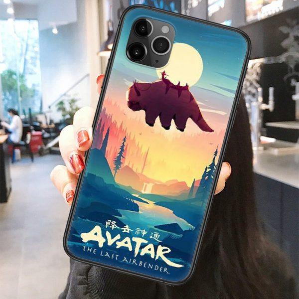 Avatar The Last Airbender Appa Phone Case Cover Hull For iphone 5 5s se 2 6 1 - Avatar The Last Airbender Merch