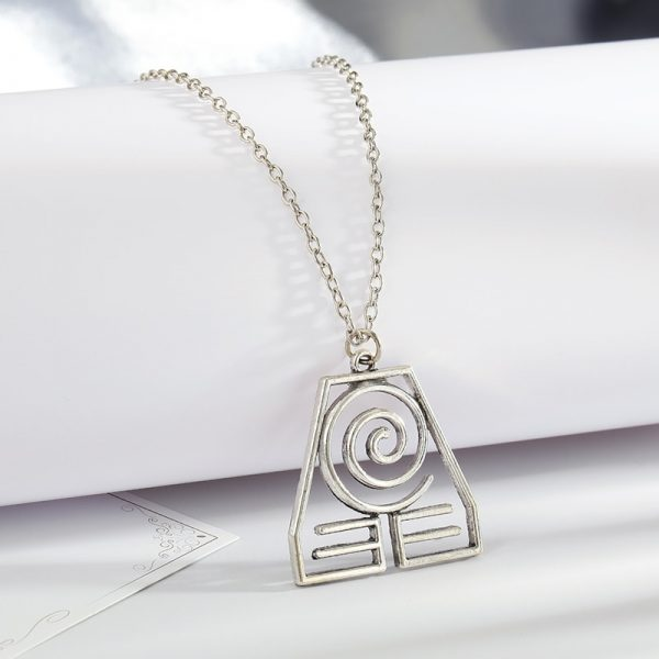 Avatar The Last Airbender Pendant Necklace Air Nomad Fire and Water Tribe Link Chain Necklace For 5 - Avatar The Last Airbender Merch