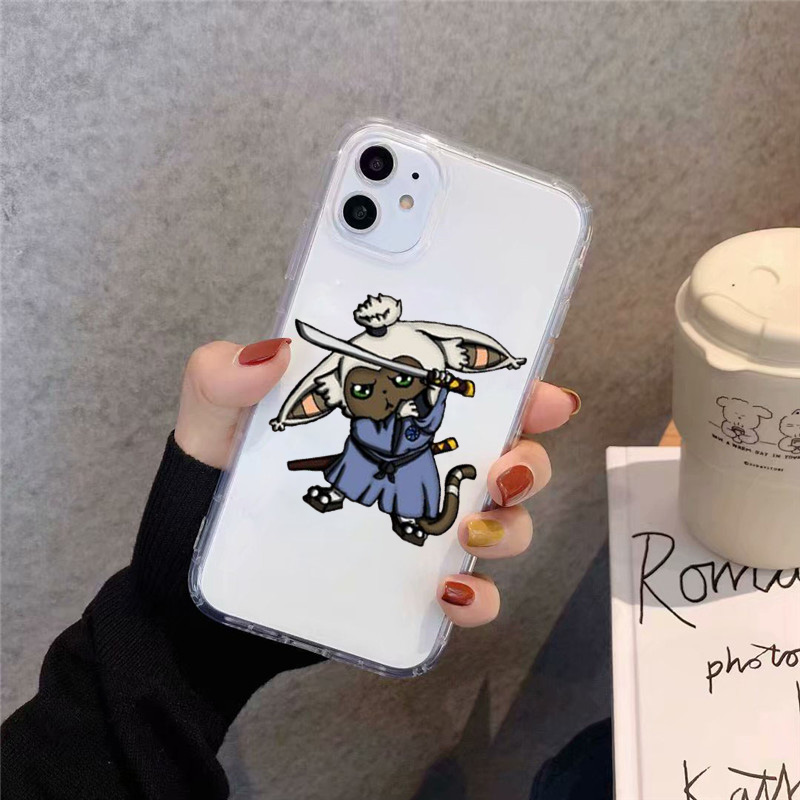 Avatar the Last Airbender Clear Phone Case For iPhone 12 11 Pro MaxX XS XR SE20 7 8 Plus Japan Anime Soft Silicone Cover Fundas